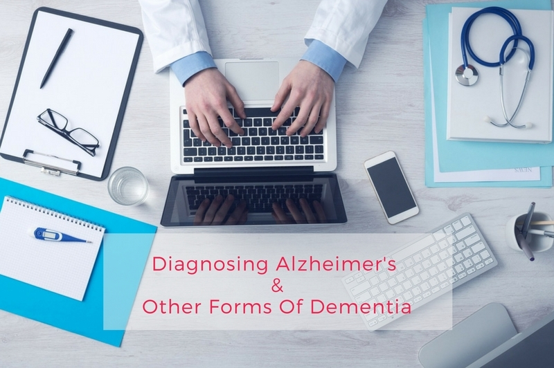 DIAGNOSING ALZHEIMER'S & OTHER FORMS OF DEMENTIA (Dr as he works at his desk)
