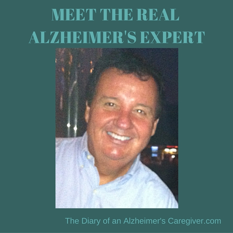 MEET THE REAL ALZHEIMER'S EXPERT https://thediaryofanalzheimerscaregiver.com/2014/06/meet-real-alzheimers-expert-his-top-5-caregiver-tips/