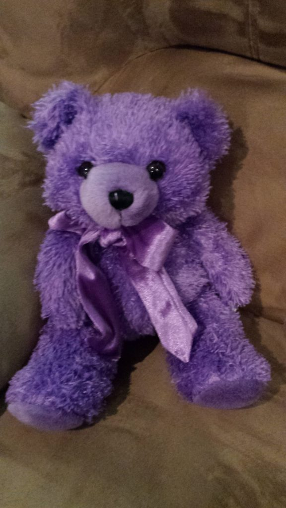 Sootheze Bear https://thediaryofanalzheimerscaregiver.com/2015/07/sootheze-is-bear-y-bear-y-good/