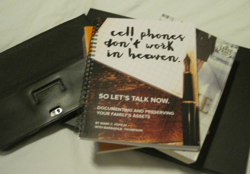 http://www.thediaryofanalzheimerscaregiver.com/2015/07/cell-phones-dont-work-in-heaven-book-review/