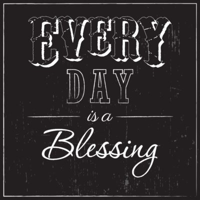 I'VE BEEN BLESSED BECAUSE…