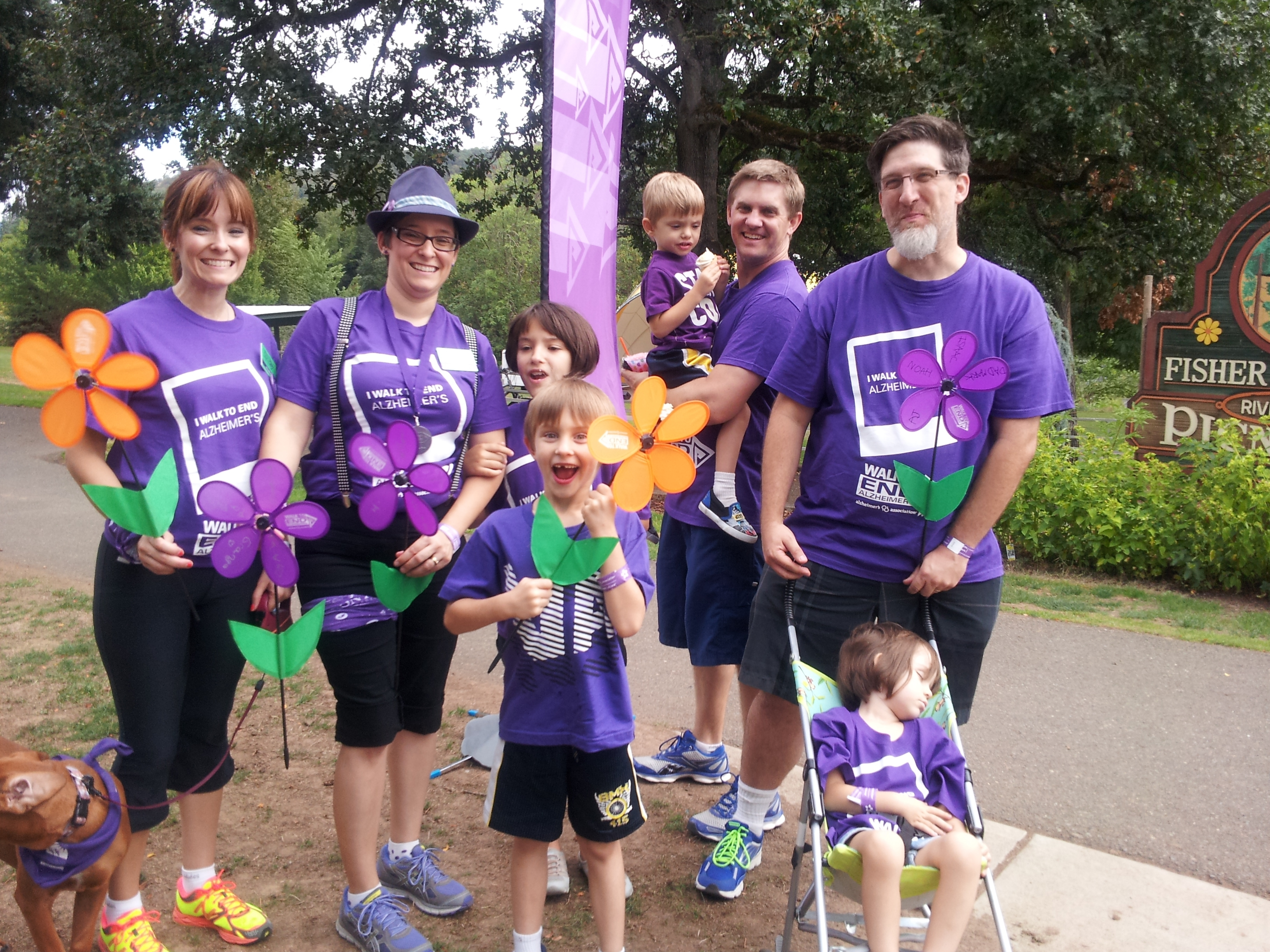 Walk to End Alzheimer's Family