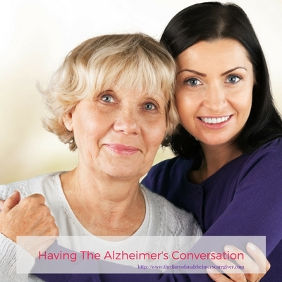 Having The Alzheimer's Conversation