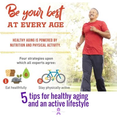 5 tips for healthy aging and an active lifestyle